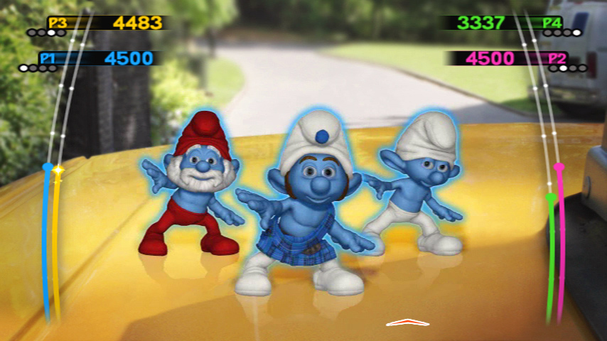 Amazon.com: The Smurfs Dance Party - Nintendo Wii: Video Games