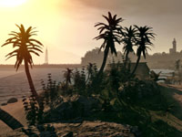 Tropical beach environment from Spiper: Ghost Warrior
