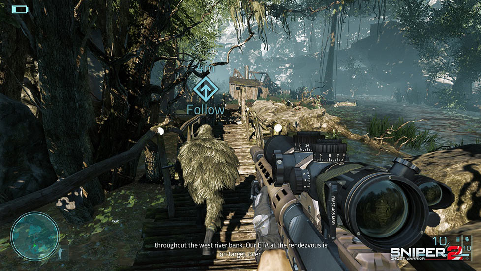 Sniper Ghost Warrior 2 (X-BOX 360) 2013