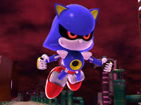 Sonic rival Metal Sonic in Sonic Generations
