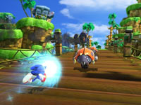 Unleashing a power-up in Sonic Generations