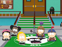 A school scene from South Park: The Stick of Truth