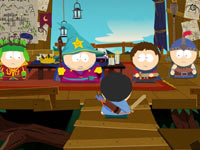 A treehouse scene from South Park: The Stick of Truth