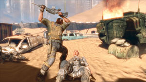 Shocking hand-to-hand combat in Spec Ops: The Line
