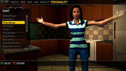 Character customization in 'Saints Row 2'