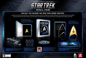 Star Trek Online Collector's Edition contents