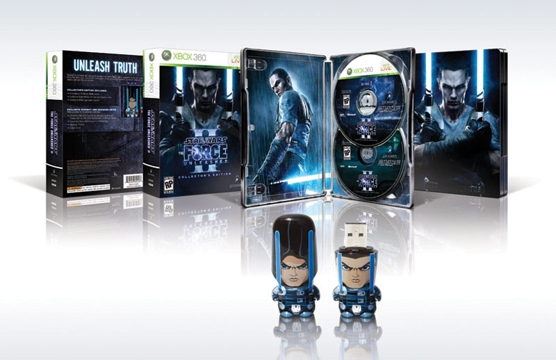 Contents of the Star Wars: The Force Unleashed II Collector's Edition