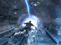 A run for your life moment on Kamino in Star Wars: The Force Unleashed II