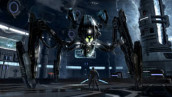 Boss battle in Star Wars: The Force Unleashed II
