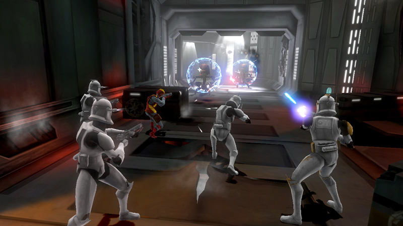 Squad-based clone combat in 'Star Wars The Clone Wars: Republic Heroes