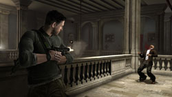 Mark and Eliminate functionality screen from Tom Clancy's Splinter Cell: Conviction