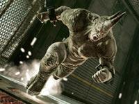 Rhino charging in The Amazing Spider-Man