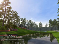 The course at Augusta from Tiger Woods PGA Tour 12 Collector's Edition