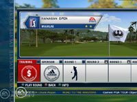 Career mode screen from Tiger Woods PGA Tour 12 Collector's Edition
