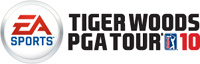 'EA Sports Tiger Woods PGA Tour 10' game logo