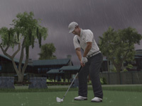 Realistic weather conditions in 'EA Sports Tiger Woods PGA Tour 10