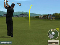 Practice mode in 'EA Sports Tiger Woods PGA Tour 10