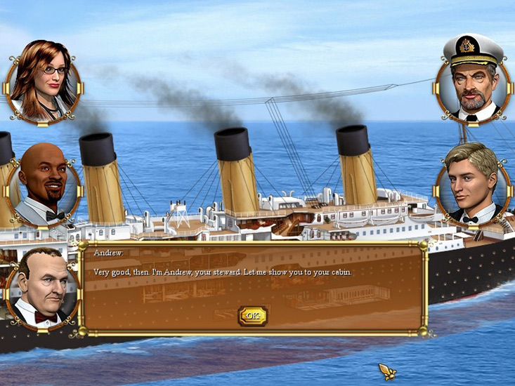 Play Titanic Mystery Online Games