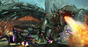 New Transformer types Insecticon and Dinobot in Transformers: Fall of Cybertron