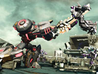 Impaling an enemy in Transformers: Fall of Cybertron