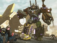 A huge Transformer in Transformers: Fall of Cybertron