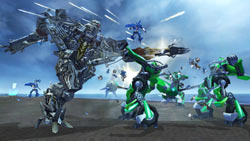 Over-the-top action in 'Transformers: Revenge of the Fallen'
