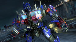 Optimus Prime from 'Transformers: Revenge of the Fallen'