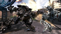 Decepticon using a weapon in 'Transformers: Revenge of the Fallen'