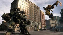 Autobot weapon strike in 'Transformers: Revenge of the Fallen'