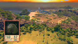 Choosing a new build site in Tropico 4