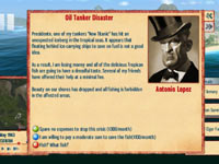 An advisor screen from Tropico 4