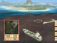 Making a building choice on the water in Tropico 4