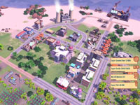 An export screen Tropico 4