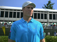 Pro golfer Ross Fisher in Tiger Woods PGA Tour 13