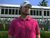 Pro golfer Graeme McDowell in Tiger Woods PGA Tour 13