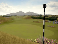 The Royal County Down course from Tiger Woods PGA Tour 13