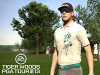Pro golfer Hunter Mahan in Tiger Woods PGA Tour 13: The Masters Collection Edition for PS3
