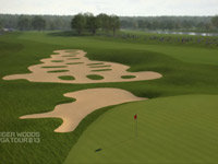Crooked Stick hole 11 for Tiger Woods PGA Tour 13: The Masters Collection Edition for Xbox 360