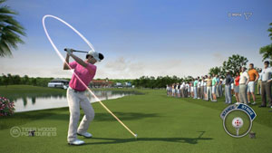 Total swing control in Tiger Woods PGA Tour 13
