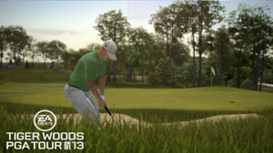 Pro golfer Ben Crane Tiger in Tiger Woods PGA Tour 13 for PS3