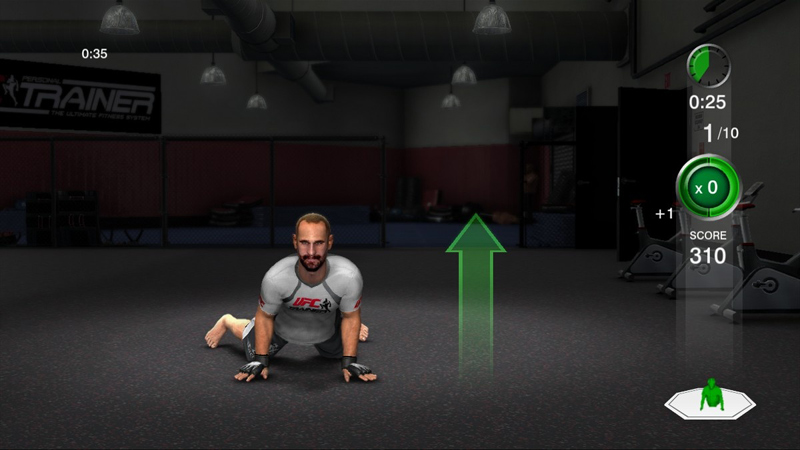 Ufc Personal Trainer Nintendo Wii By Thq