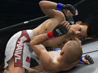 Finishing a downed opponent in UFC Undisputed 3