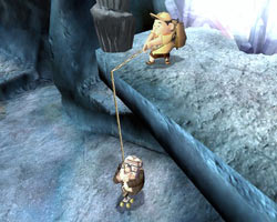 Co-op gameplay in 'UP' The Video Game