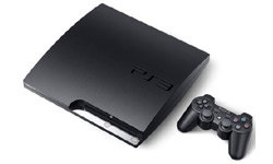 The PlayStation 3 gaming console with DualShock 3 wireless controller