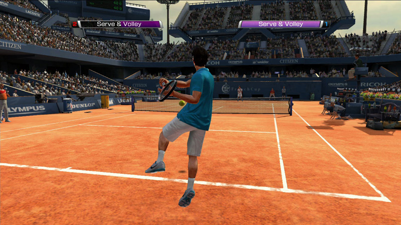 Virtua Tennis returns with the hottest ATP and WTA players, 40 courts