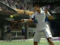 A replay of an Andy Murray forehand in Virtua Tennis 4