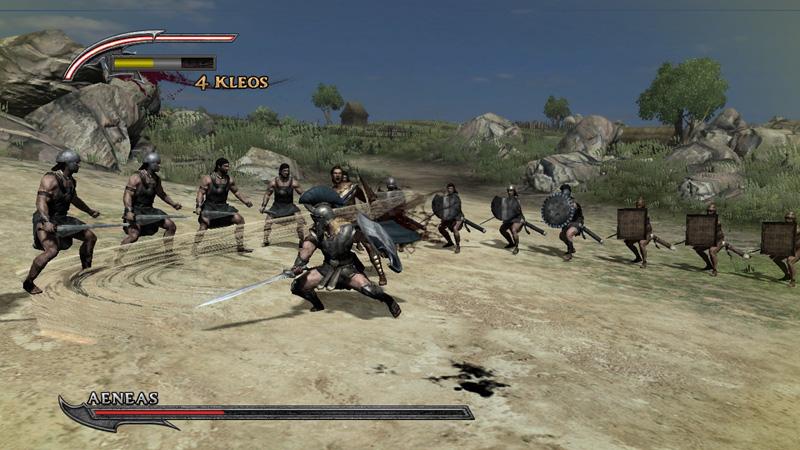 Warriors Legends of Troy Trojans