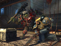 8 vs. 8 online multiplayer battles in Warhamer 40,000: Space Marine