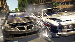 Vehicle melee mode in 'Wheelman'