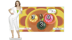 The 'Perfect 10' balance game from 'Wii Fit Plus'